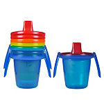 Take & Toss 7 oz. Spill Proof Cups with removable handles (4-pack)