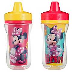 Disney Baby Minnie Mouse Insulated 9 Oz Sippy Cup 2 Pack