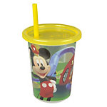 Mickey Mouse Clubhouse Take & Toss 10oz Straw Cups - 3-pack